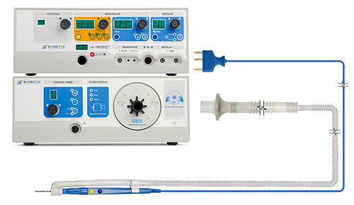 Эвакуатор дыма (дымотсос) Sensitec SE-100